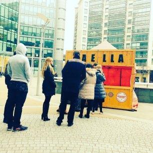 Paella sheldon Square Paddington London