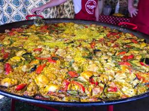 private catering paella spanish catering london