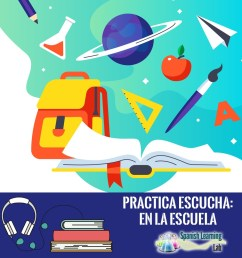 Talking about your School and Classes in Spanish - SpanishLearningLab [ 1000 x 1000 Pixel ]