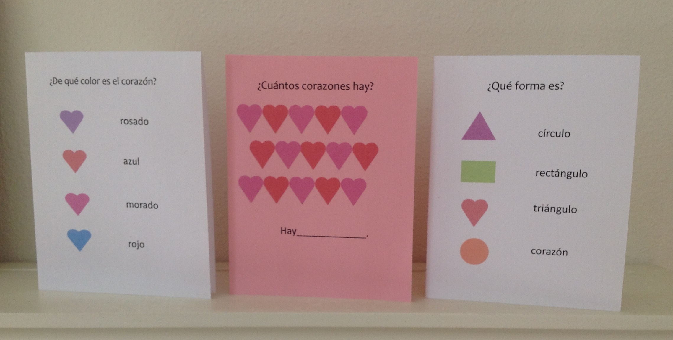 Spanish Valentine Cards To Print Spanish Playground