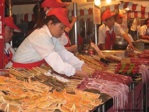 Spanishpodcastorg Puestos de comida china