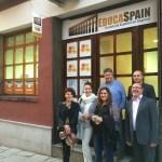 Fachada de la Escuela de Español
