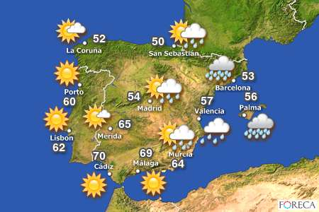 WEATHER Whats The Weather Like Today MLZ English - Portugal map weather