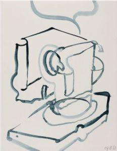 z.t. 27 x 22 cm, werk op papier, 2007