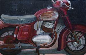 135 x 90 cm, olieverf op doek, 2007