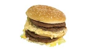 lelijke hamburger