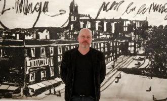 Tekeningen Van Nederlands Beeldend Kunstenaar Marcel Van Eeden In Málaga Te Bekijken
