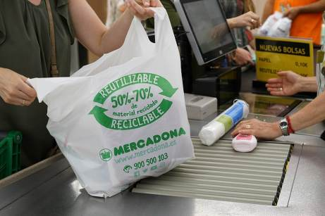 Mercadona gaat in 2019 papieren tassen aanbieden