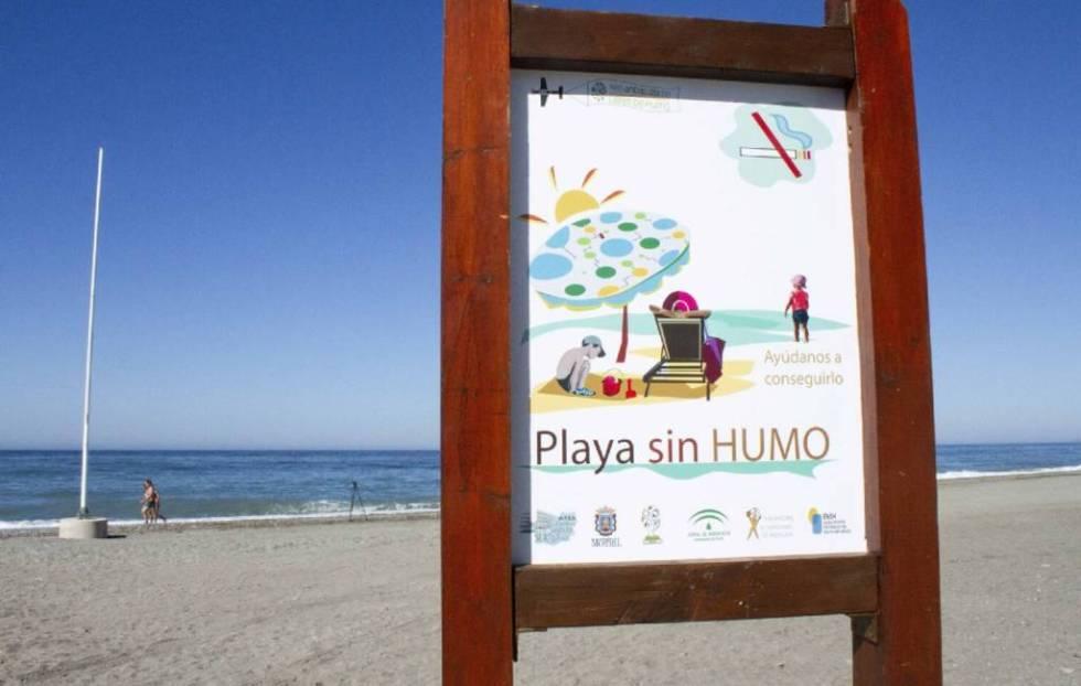 Overzicht rookvrije stranden in Spanje