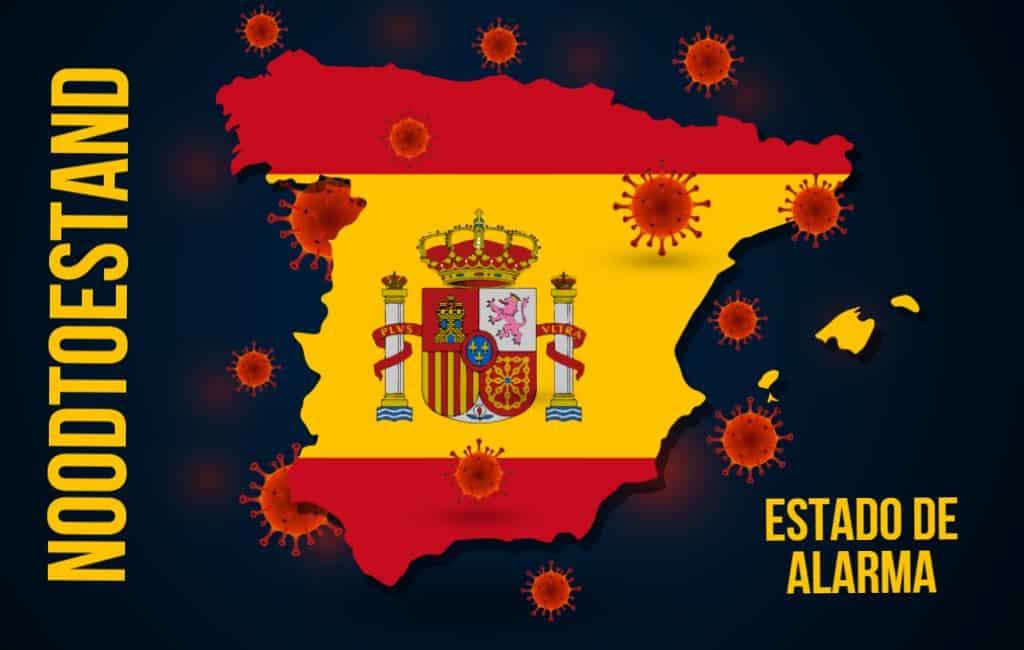 Nieuwe noodtoestand in Spanje afgekondigd