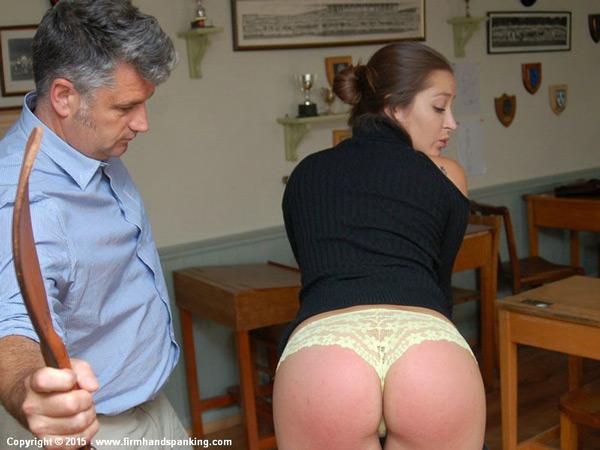 Super hot Dani Daniels gets it off with a spanking