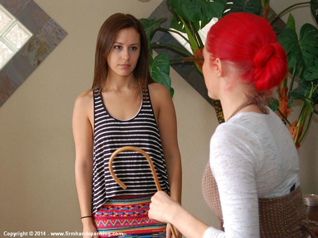 Stephanie Murray is in trouble with Alison Miller in the Private School