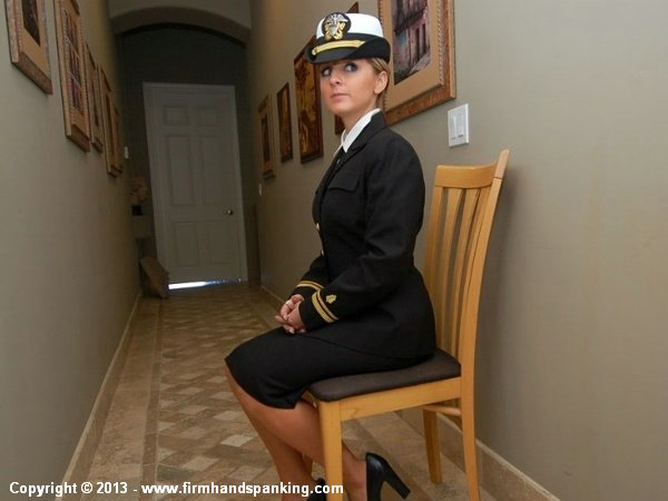 Military discipline can he harsh, as Naval Cadet Kelly Morgan learns when she cuts the mandatory morning exercises