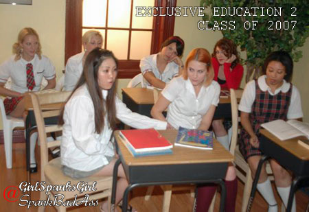 New Spanking Movie Exclusive Education 2 screenshot