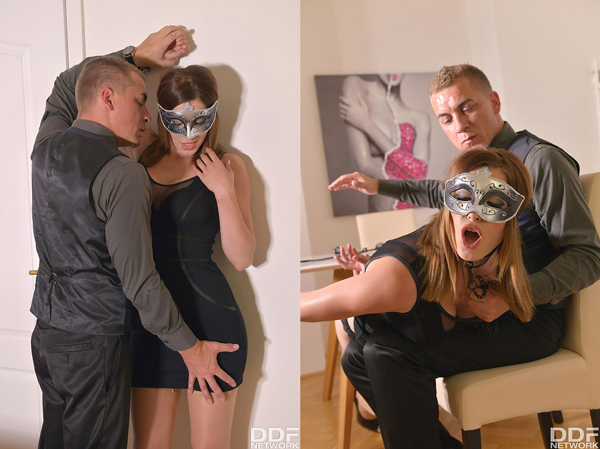 Victoria Daniels gets dominated and spanked in Grey at Play