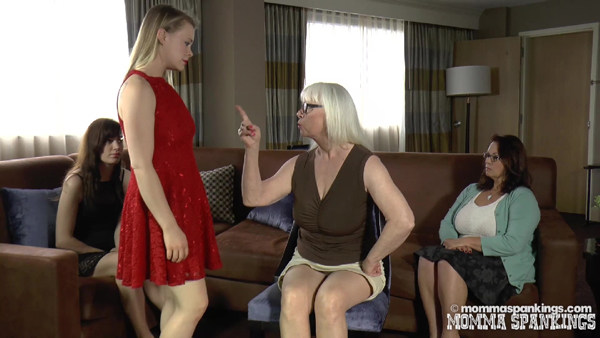 Stevie Rose and Ava Nicole are in trouble with Miss Elizabeth and Dana Specht in Drunk Daughters Disciplined