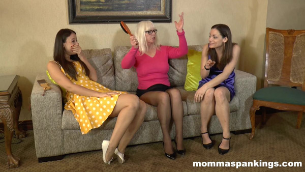 Sarah Gregory, Ten Amorette and Dana Specht in Spanked Sober