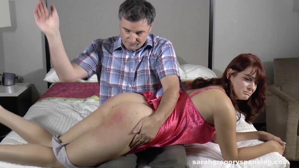 Syrena's Second Spanking is by daddy, John Osborne