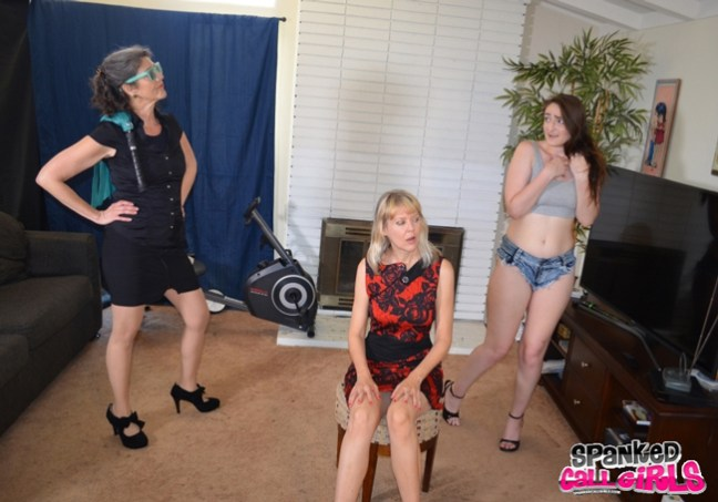 Callgirl Luci Lovett gets in trouble with two madams, Clare Fonda and Samantha B
