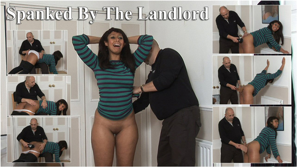 Dani Hunt gets spanked by her landlord