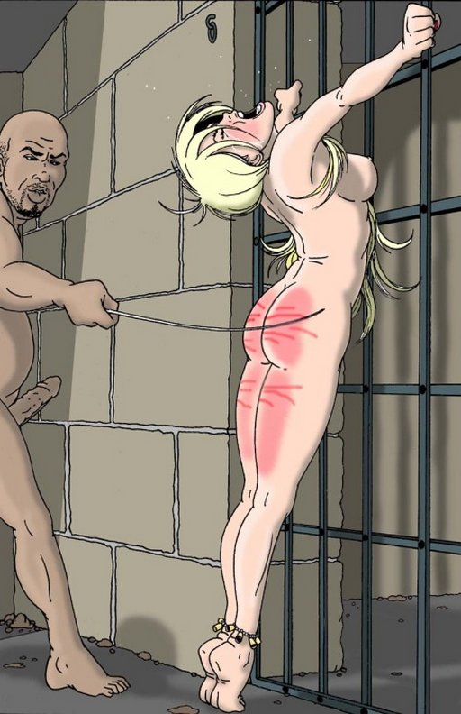 Can not whipped slave girl art think