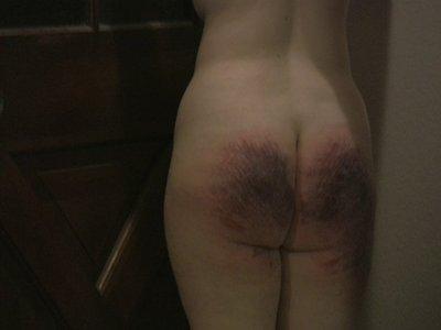 lee warner spanking art with words