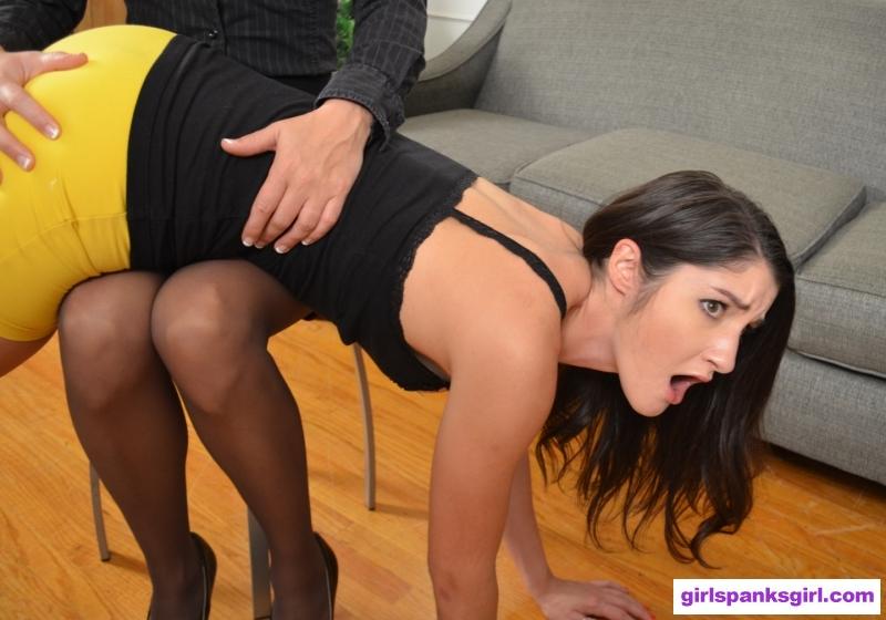 spank girl Nanny