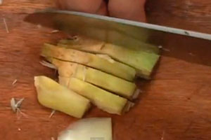 Alcachofas Fritas - Artiskok chips