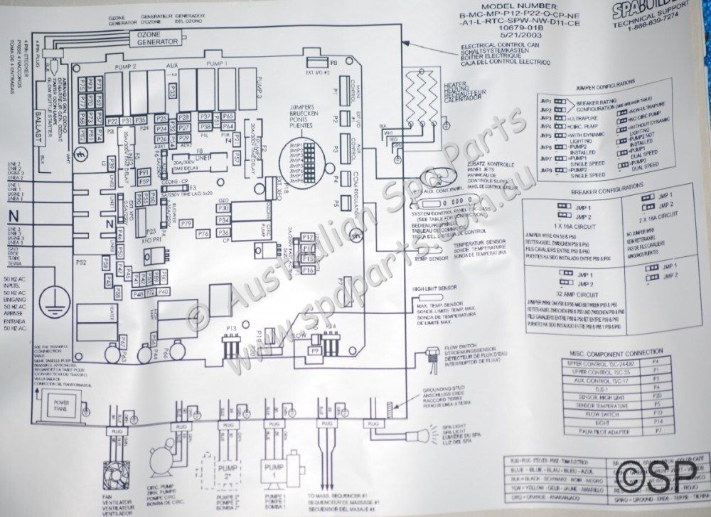 medium resolution of dimension one spas gecko mspa mp d12 pcb 01710 1010e hot springs portable spas diagrams hot tub internal wiring diagram