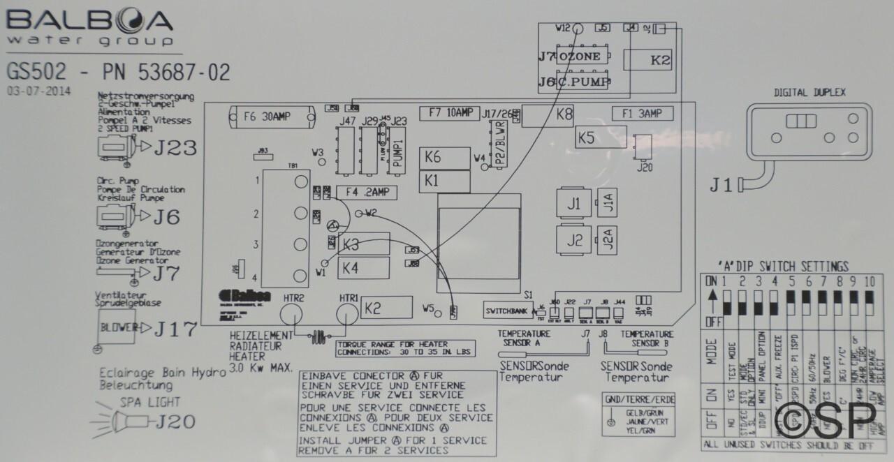 Balboa Spa Pack Wiring Diagram Spa Circulation Pump