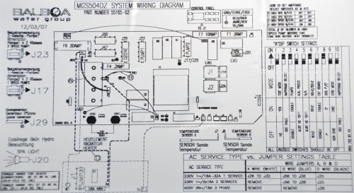 small resolution of artesian spas island series electronic control pack hot springs hot tub disconnect wiring diagram spa 220