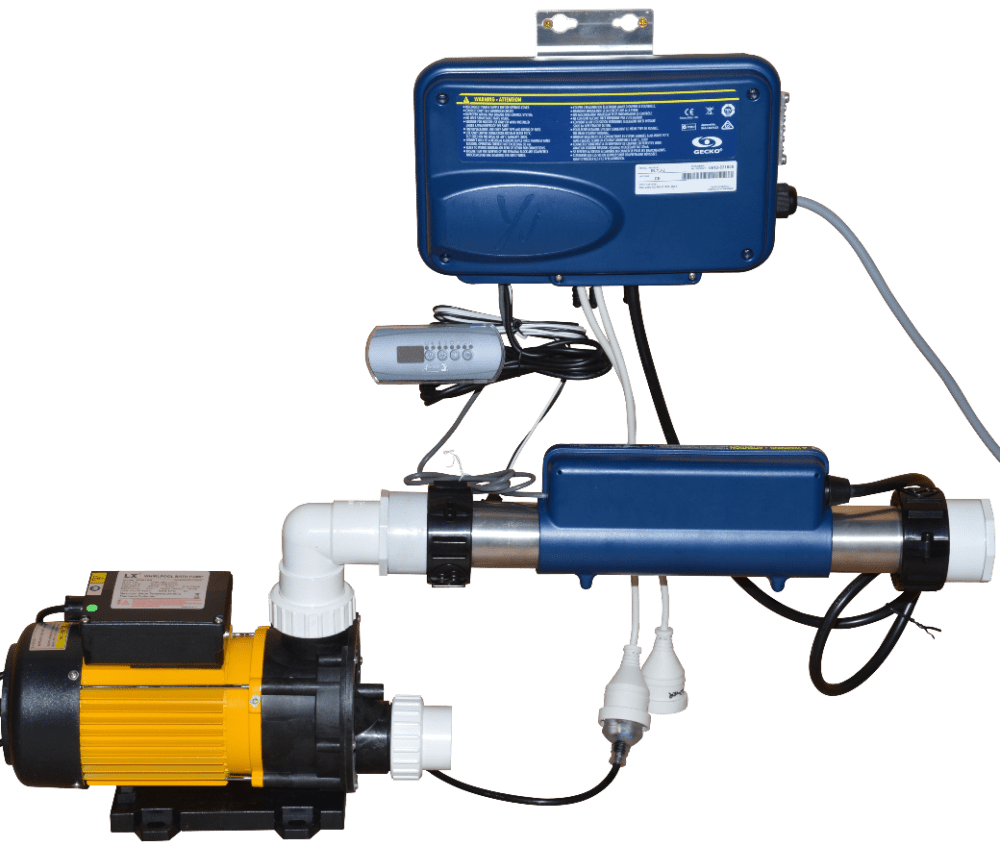 medium resolution of all in one spa hot pump replacement kit