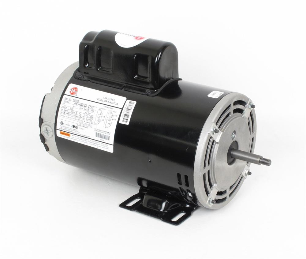 Ao Smith Single Phase Wiring Diagram Mtraos 187563 Tt505 Spa Pump Motor 56fr 2 Spd 12a 230v Us