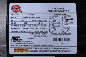 Spa Pump Replacement PUUPC2152582F 1015103 Marquis