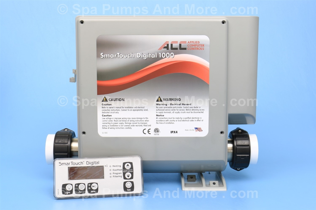 hight resolution of outdoor rated spa control with spa heater cords 230v 115v kp 2010 topside acc smtd 1000 gr smtd1000gr smartouch digital 1000 shipping choices wiring