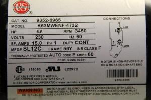 Waterway Pumps Spa Pump 37120211D 37120211D P150E52024 PF501N22C, PF501N22M