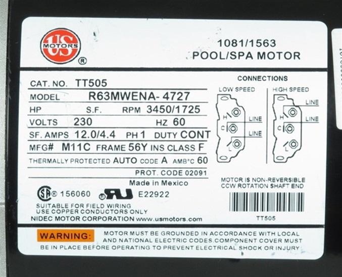 model a 12 volt wiring diagram intertherm electric furnace waterway spa pump 3721621-1w ex2 aqua-flo xp2e replacement 3m21621-1w, pumps, hot tub ...