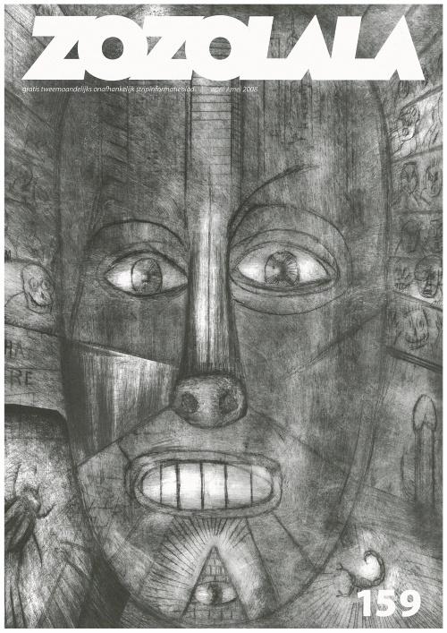 Peter Kuper cover for Zozolala 159