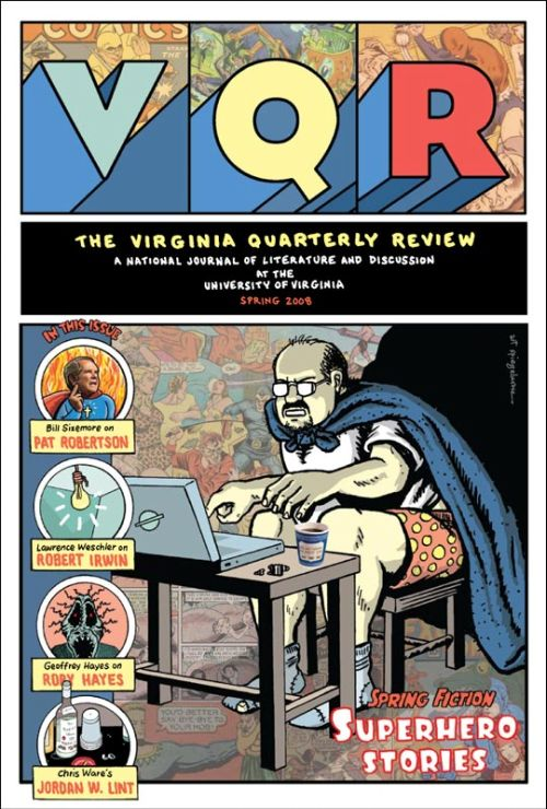Virginia Quarterly Review cover by Art Spiegelman
