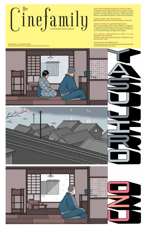 Chris Ware for Cinefamily