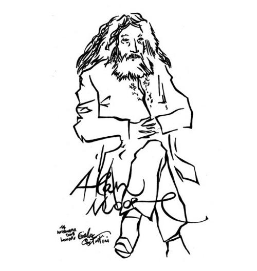 Alan Moore by Gianluca Constantini