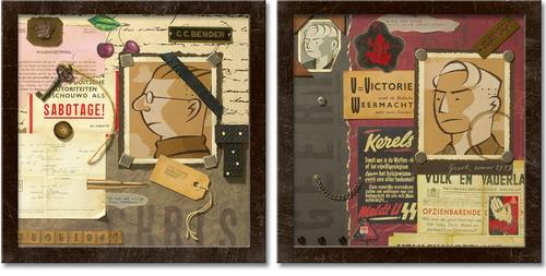 Collages by Erik De Graaf