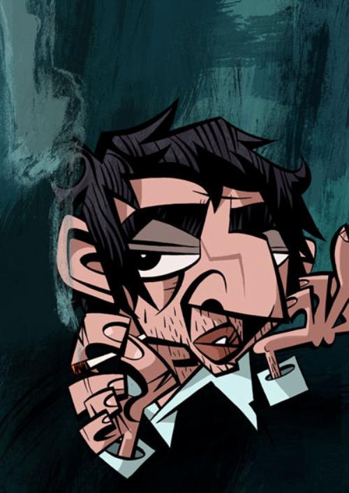 Serge Gainsbourg by Jonathan Edwards