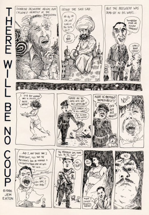 There Will Be No Coup by Jeremy Eaton, 1986