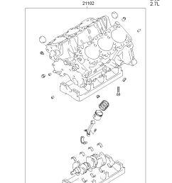 engine assy short model grandeur xg manufacture hyundai hs your price 2596 45 [ 886 x 1211 Pixel ]