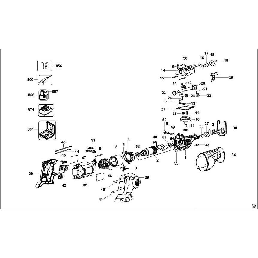 Buy A Dewalt DC385 Spare part or Replacement part for Your