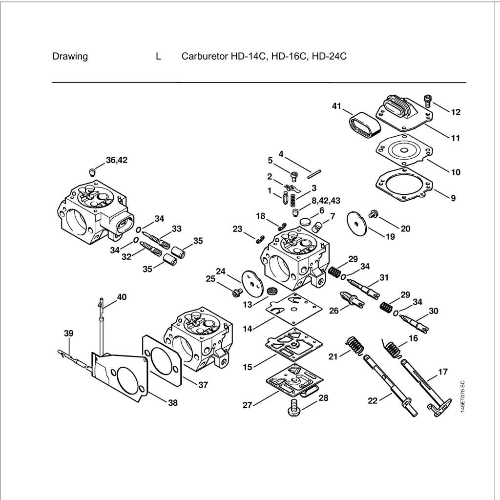 Buy A Stihl MS460 Spare part or Replacement part for Your