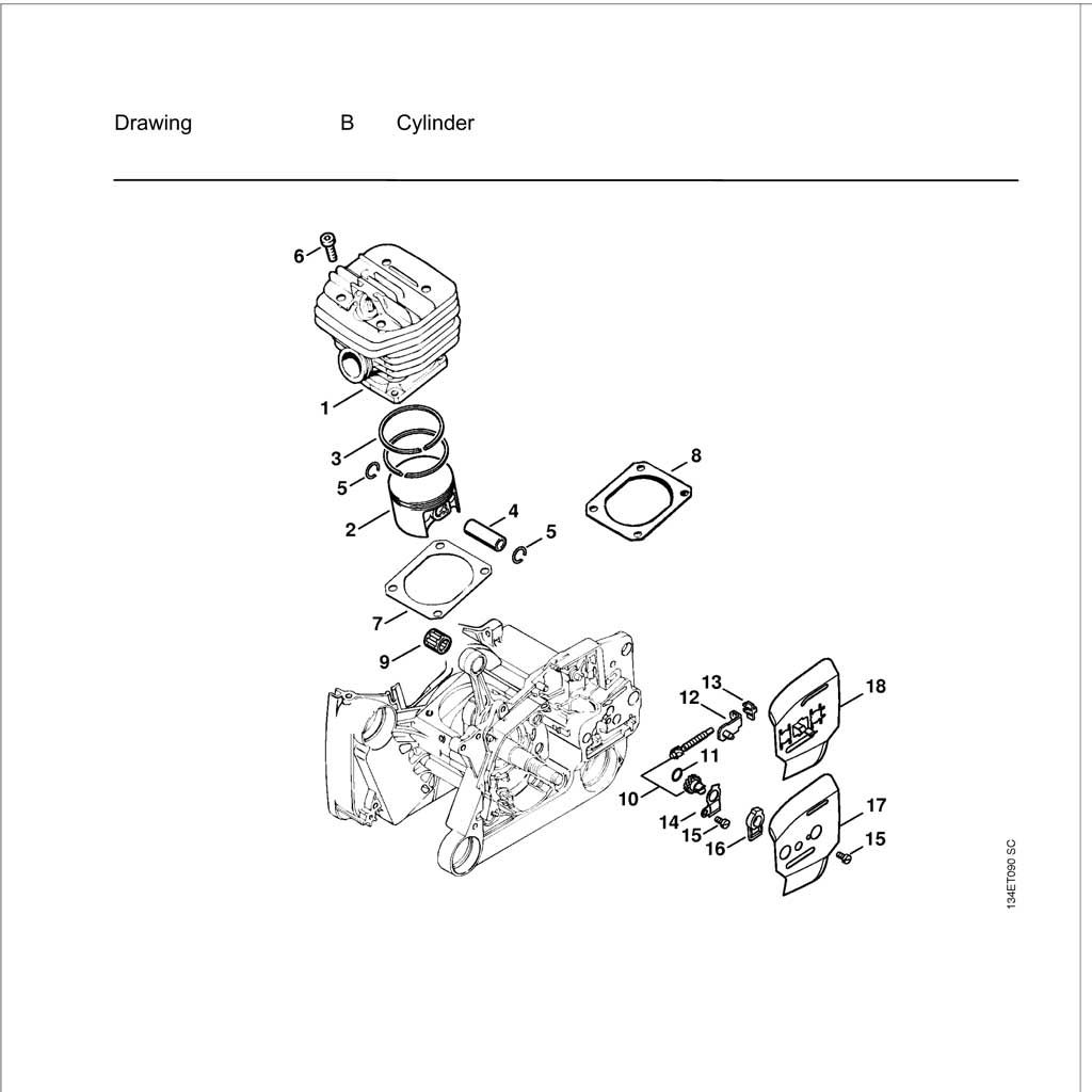 Buy A Stihl MS640 Spare part or Replacement part for Your