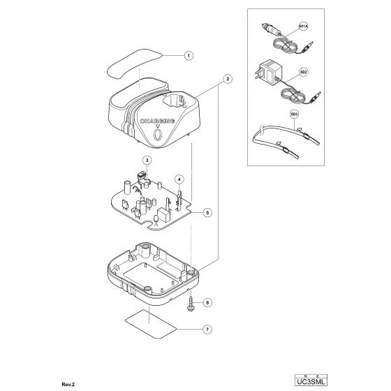 Buy A Hitachi UC3SML Spare part or Replacement part for
