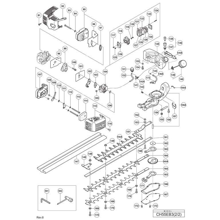 Buy A Hitachi CH55EB3 Spare part or Replacement part for
